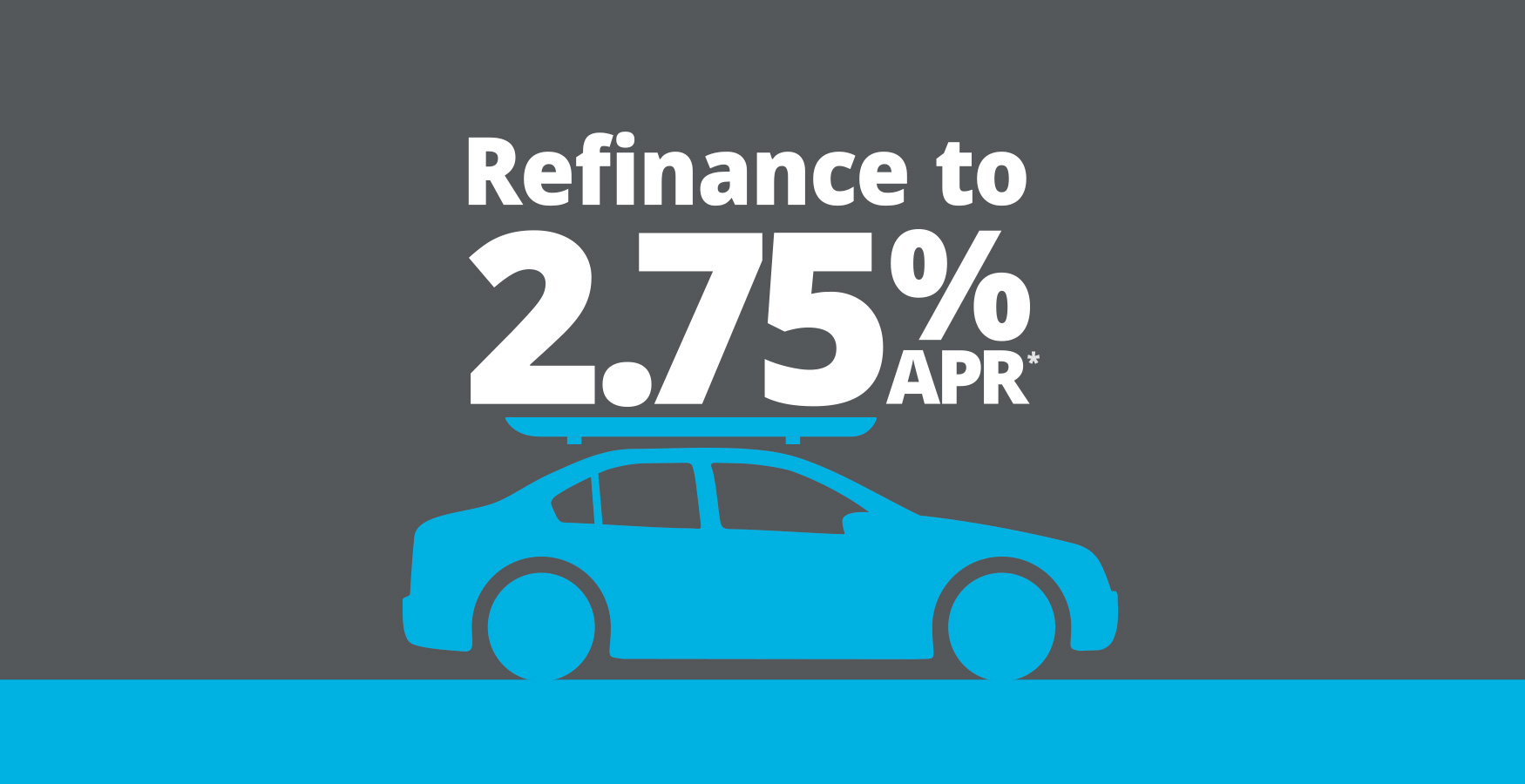 Refinance your auto loan to 2.75% APR