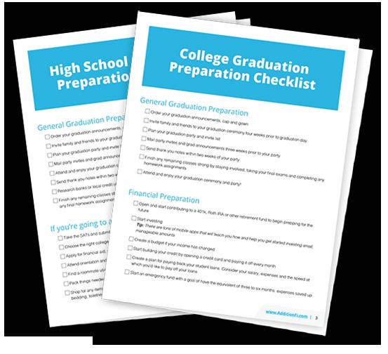 High School and College Grad Prep Checklist
