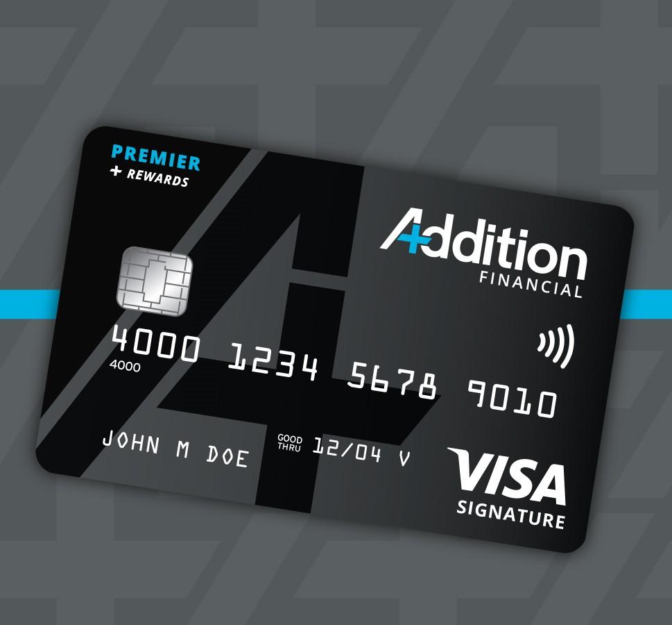 Premier Rewards Credit Card Banner